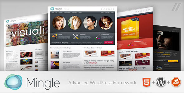 Mingle WordPress Theme