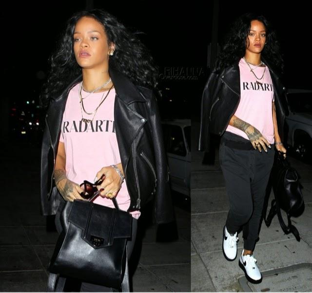 Rihanna in Rodarte, Haider Ackermann