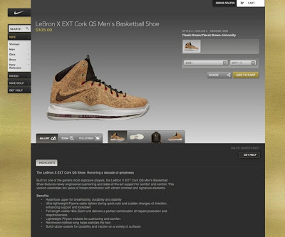 nike lebron 10 xx cork nike elite 1 02 You Can Already Get LeBron X Cork Only If Youre a Nike Athlete