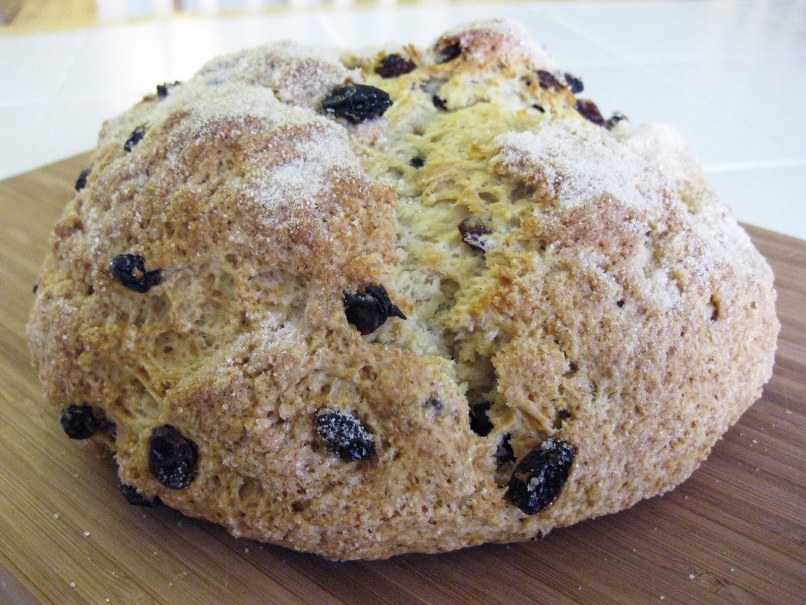 Bloatal Recall: Irish Soda Bread with Raisins