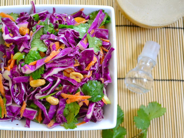 Crunchy Asian Salad - Budget Bytes
