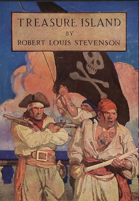 N. C. Wyeth - Treasure Island by Robert Louis Stevenson, Charles Scribner's Sons, 1911