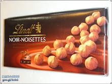 黑色榛果口味的瑞士蓮巧克力