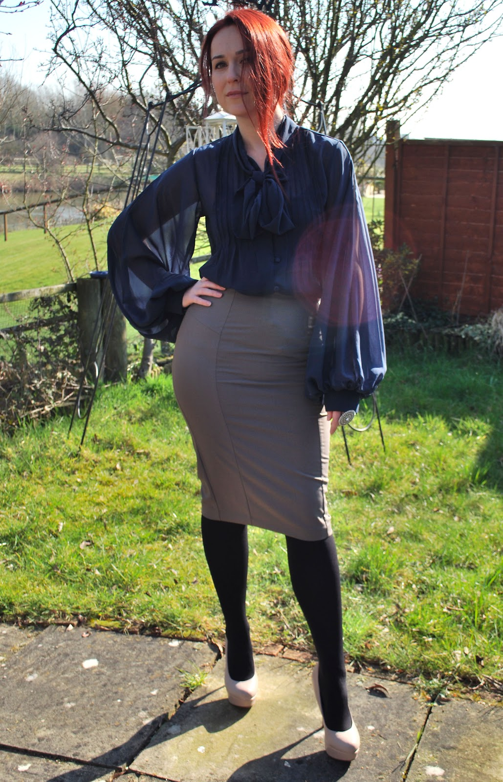 outfit the interview rosalilium blouse primark skirt asos shoes next ring accessorize