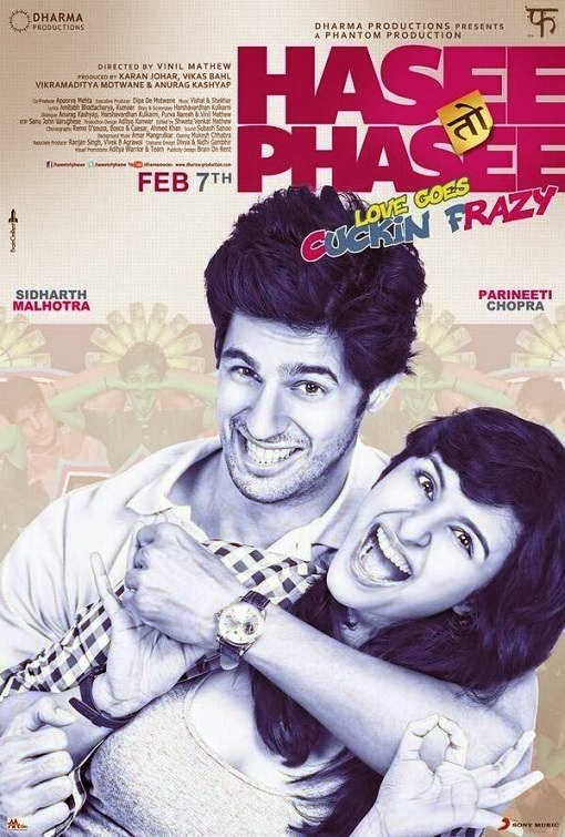 Cover of Hasee Toh Phasee (2014) Hindi Movie Mp3 Songs Free Download Listen Online at Alldownloads4u.Com