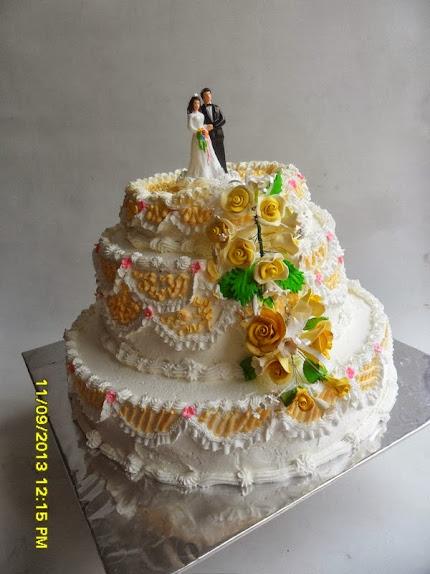 Kue Pengantin Gedung Heartline, Karawaci, Tangerang