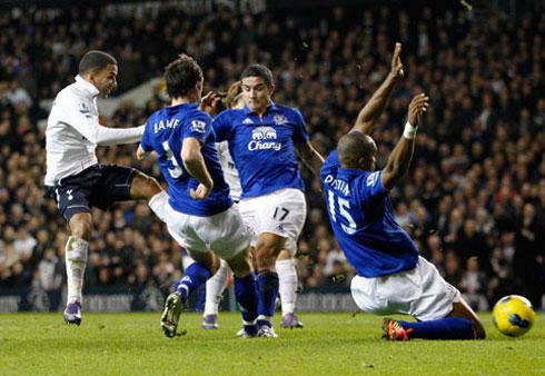 Aaron Lennon, Tottenham HotSpur - Everton