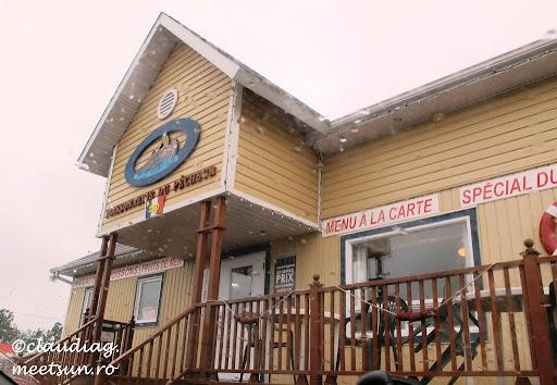 la pescaria-magazin-restaurant ne bucuram de o masa cu peste