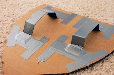 DIY knight shields