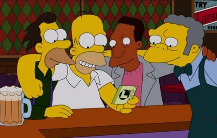 """Kent Brockman ganó la lotería en """"Los Simpson"""""""