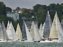 J/109s sailing Round Island race