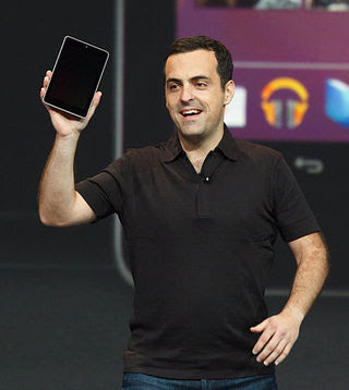 Hugo Barra. Current Google. Next Xiaomi Global.