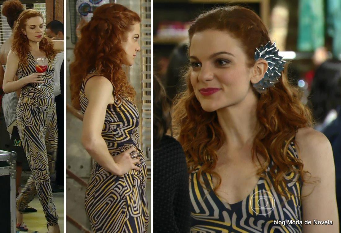 moda da novela Em Família - look da Vanessa dia 3 de junho