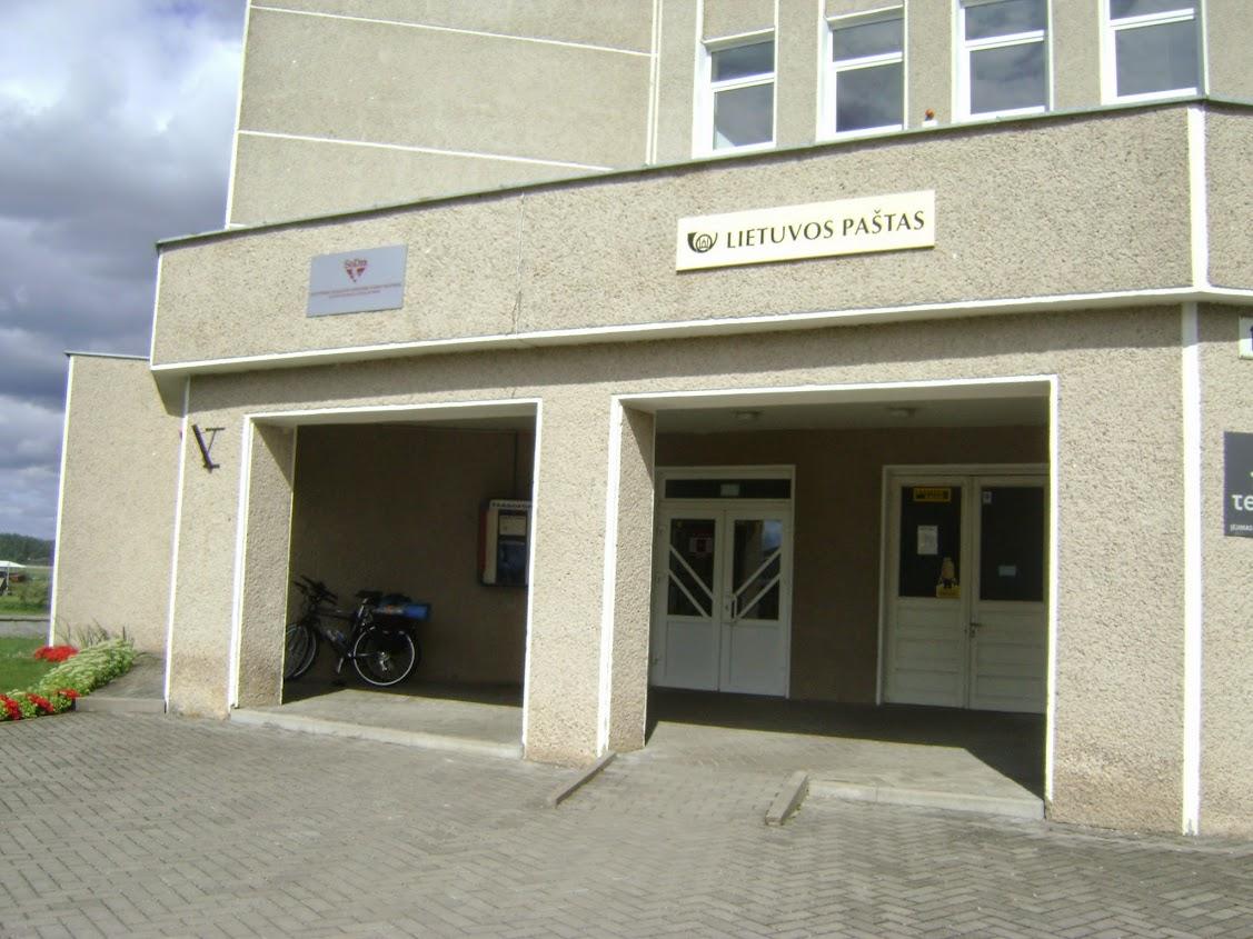 Łoździeje, poczta, Litwa