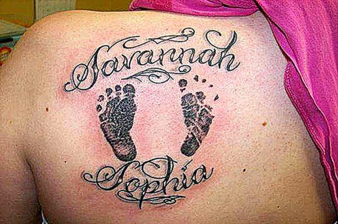 10 great ideas of Baby name tattoos for Parents   XpressMag