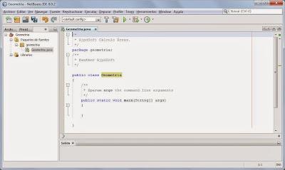 Crear aplicación Java en el IDE NetBeans