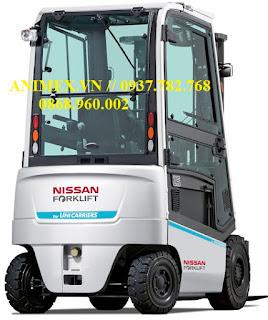 Xe nâng điện 1.5 tấn Nissan Unicarriers