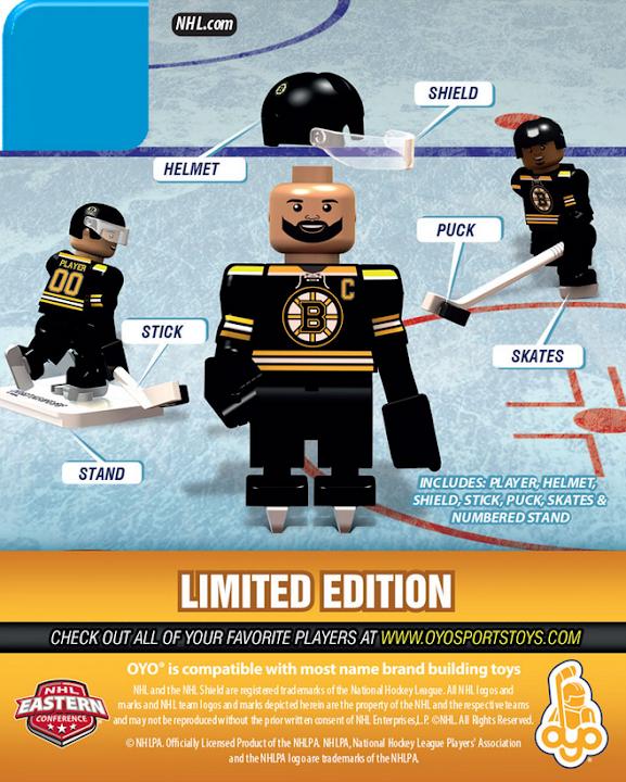 OYOSports Boston Bruins NHL Minifig Lego -- Zdeno Chara