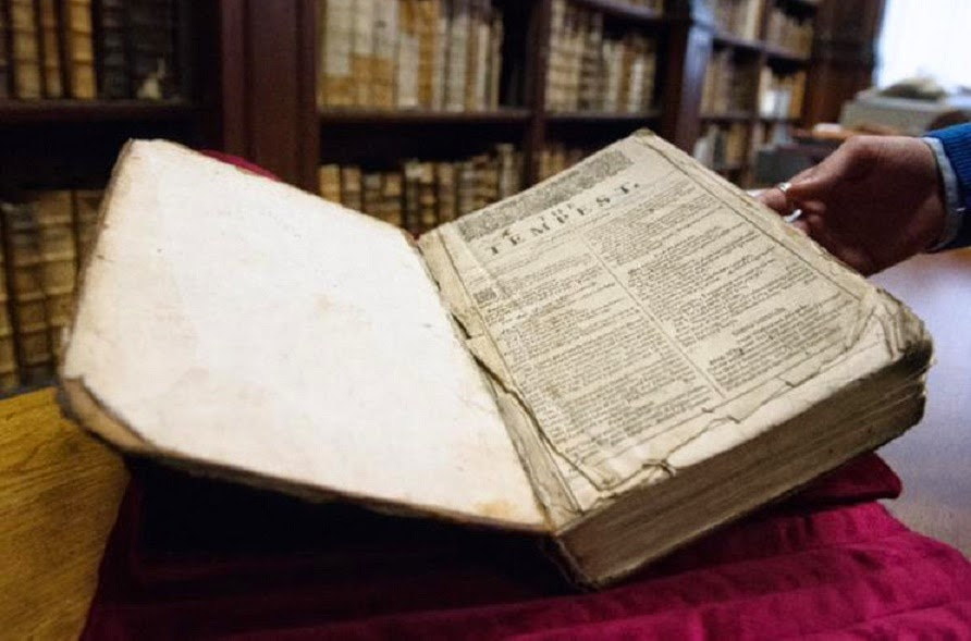 Heritage: Rare first Shakespeare edition found in French library
