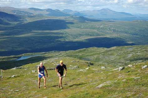 Ultramaratón, montaña