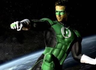 Ryan Reynolds Linterna Verde