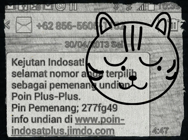 Penipuan SMS