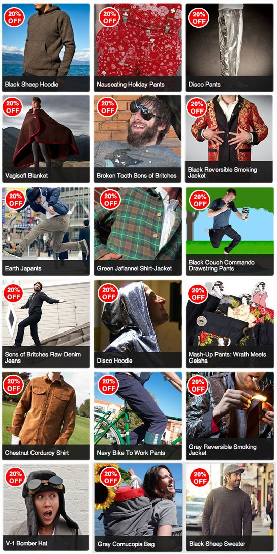 Holiday Sale Grid