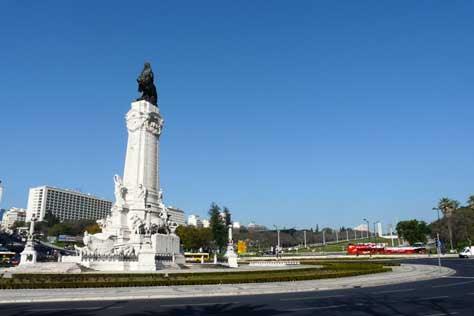 Lisboa, Plaza del Marques de Pombal