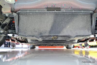 Fiat 500e battery pack