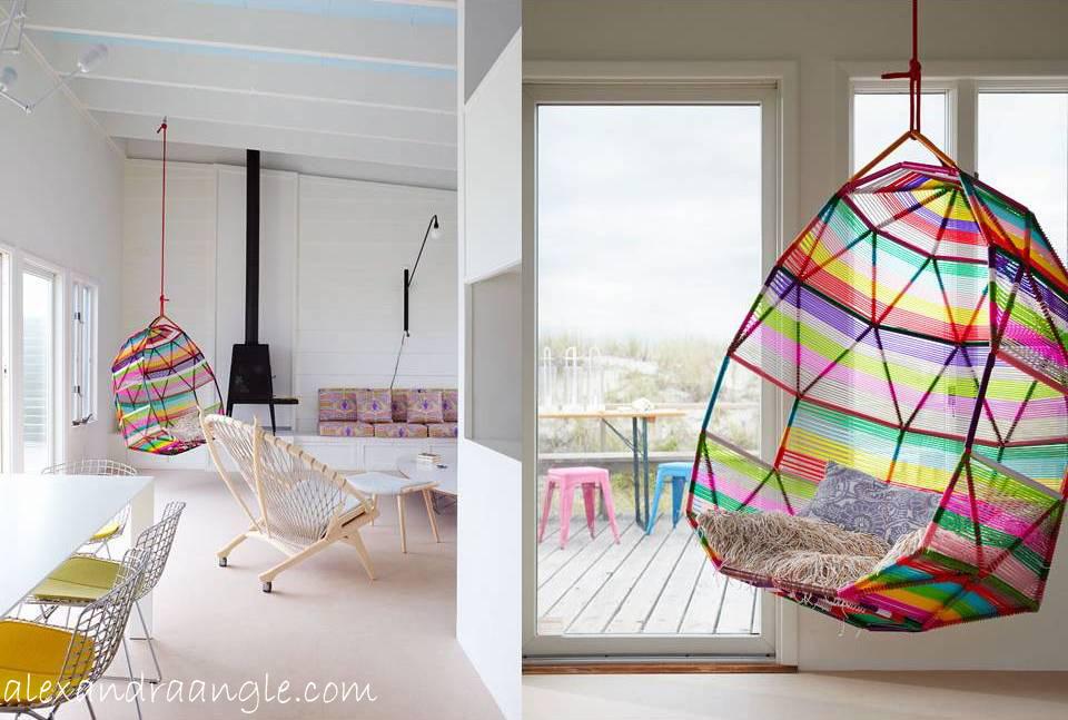 Sneak peek 2 new ideas item del d a sillas colgantes - Silla colgante ...