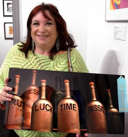 """People's Choice Award: """"Emotion Potions"""" by Sherry Salant"""