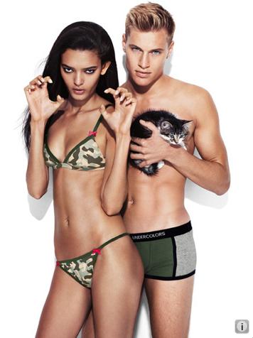 Godustyle benetton underwear ss 2011 benetton swimwear for Ropa interior benetton