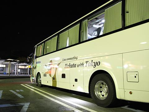 西日本鉄道「はかた号」 0002 佐波川SAにて その2