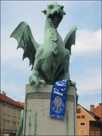 Zmajski Most, a Ponte do Dragão em Ljubljana - Eslovénia