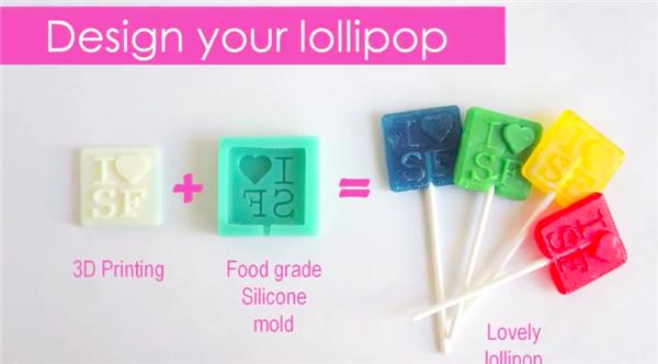 StuffHub производит персональные леденцы с помощью 3D печати