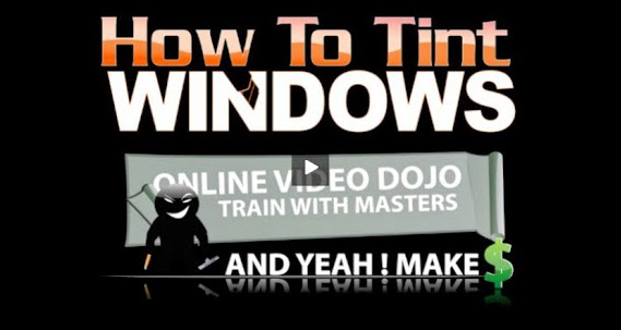 how to do window tinting