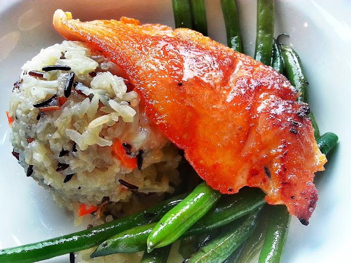 Seared Lummi Island Salmon (软糯香煎露米三文鱼)