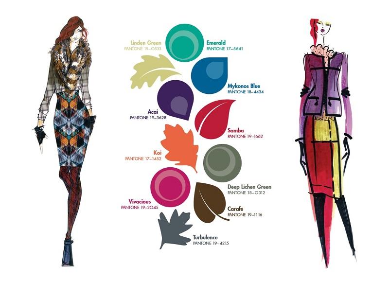 Pantone Fall 2013 Fashion Colors for Women