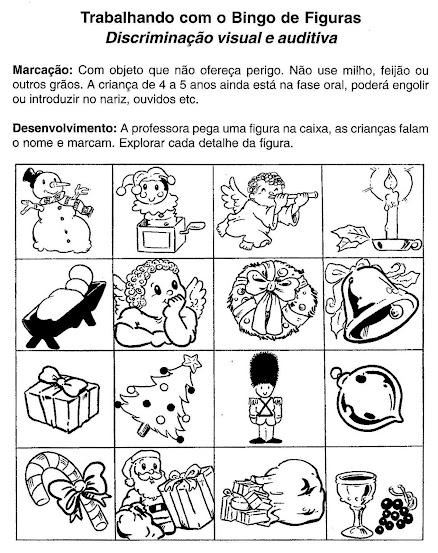 Mimos e encantos da educa o trabalhando com o bingo de for Mural de natal 4 ano