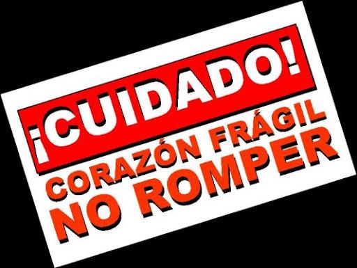 Cuidado Corazon Fragil