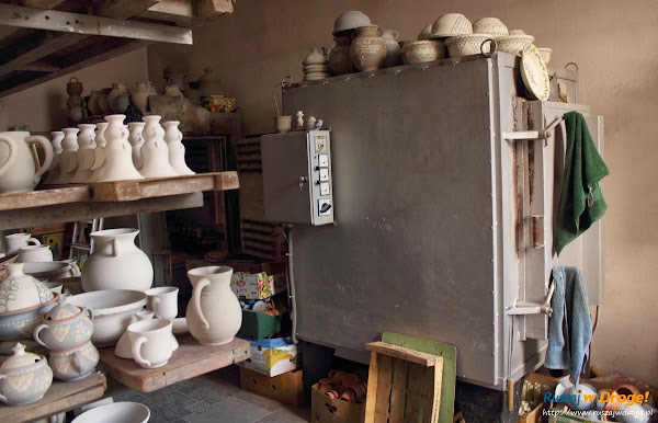 Chmielno - Muzeum Ceramiki Neclów - wypalanie ceramiki