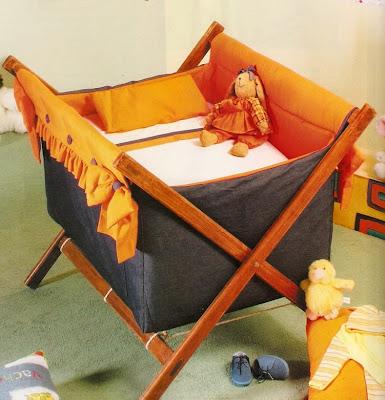 Como hacer un catre o cuna para bebe recien nacido hermosa - Hacer cuna de madera ...