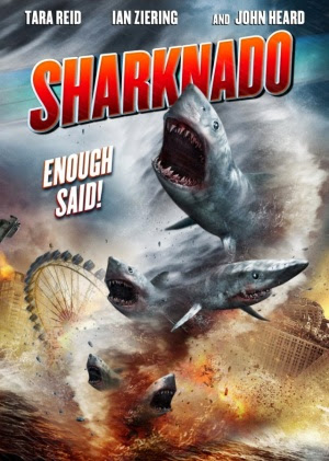 Filme Poster Sharknado HDTV XviD & RMVB Legendado