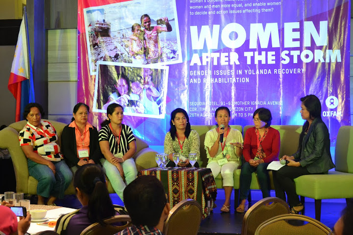 Women advocates raise concerns in Yolanda-hit areas