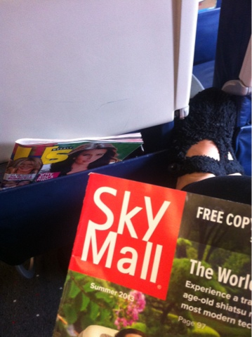 reading materials for international airplane flights www.thebrighterwriter.blogspot.com