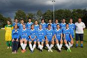 spektakelmatch gewonnen door de dames van SV De Ruiter
