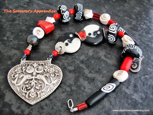 The Sorcerer's Apprentice Necklace by Caprilicious Jewellery
