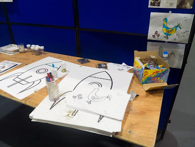 Pigeons and rockets at LonCon