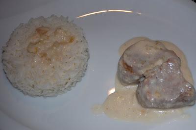 Filet mignon à la sauce raifort - recette indexée dans les Viandes