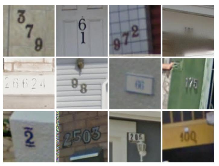 Streetview Numbers
